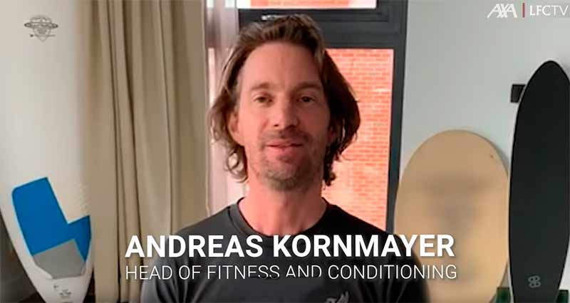 упражнения Андреас Корнмайер